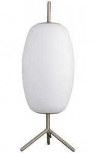 Лампа настольная Silk 20X20X53 CM белое опаловое стекло