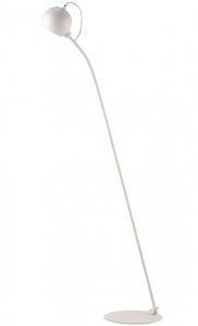 Лампа напольная Ball 24X49X130 CM белая матовая