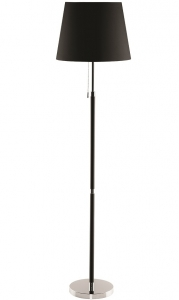 Лампа напольная Venice 25X25X162 CM чёрного цвета
