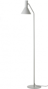 Лампа напольная Lyss 25X25X150 CM белого цвета