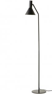 Лампа напольная Lyss 25X25X150 CM чёрного цвета