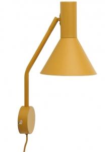 Лампа настенная Lyss 18X25X42 CM миндального цвета