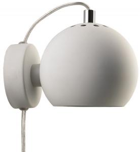 Лампа настенная Ball 12X16X10 CM белая
