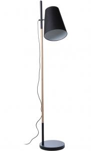 Лампа напольная Hideout 30X37X168 CM чёрная