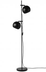 Лампа напольная Ball Double 24X45X149 CM чёрная матовая