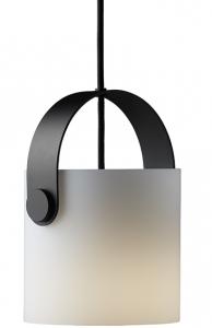 Лампа подвесная Ootg 16X16X20 CM белое опаловое стекло