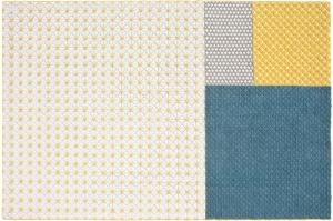 Шерстяной ковёр ручной работы Silai 258X171 CM голубой