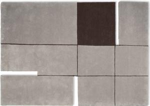 Шерстяной ковёр в урбанистическом стиле A180 Grey 170X240 CM