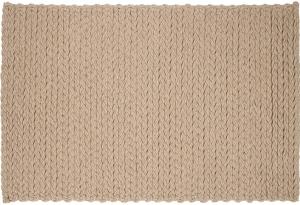 Шерстяной ковёр ручной работы Trenzas 240X170 CM бежевый