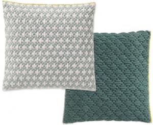 Декоративная подушка Silai Cushion 50X50 CM серо-зелёная