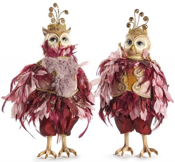 Декоративная сова Fairy Owl Doll 2 шт 36 CM 1