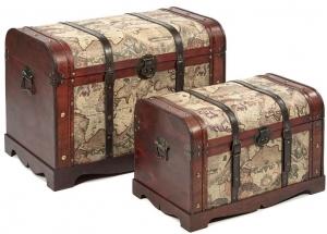 Набор маленьких сундуков Atlas Thunk Box 78X30X35 /  61X30X30 CM