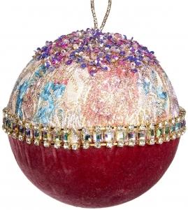 Ёлочный шар Brocade Ball 12 CM