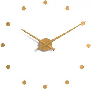 Настенные часы OJ Ø50 CM горчичные