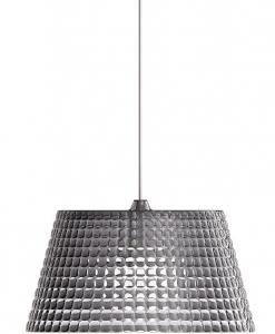 Подвесной светильник tiffany 42X42X22 CM серый
