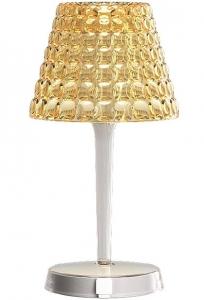 Настольный беспроводной светильник tiffany 13X13X25 CM песочный