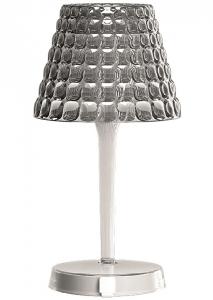 Настольный беспроводной  светильник tiffany 13X13X25 CM серый