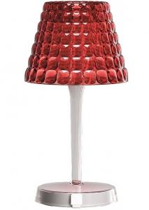 Настольный беспроводной  светильник tiffany 13X13X25 CM красный
