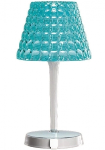 Настольный беспроводной светильник tiffany 13X13X25 CM голубой