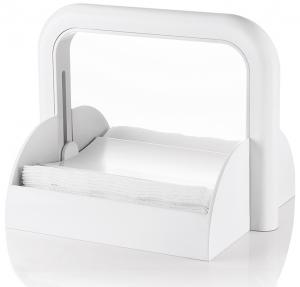 Держатель для бумажных салфеток forme casa белый