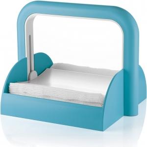 Держатель для бумажных салфеток forme casa голубой