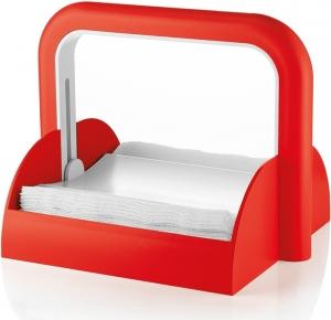 Держатель для бумажных салфеток forme casa красный