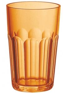 Стакан happy hour 420 ml оранжевый