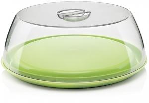 Блюдо с крышкой forme casa Ø34 CM зелёное