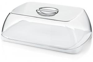 Блюдос крышкой Forme Casa 30X10X18 CM белое