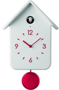 Часы с кукушкой qq 25X39X12 CM белые