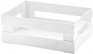 Ящик для хранения Tidy & Store 23X16X8 CM белый