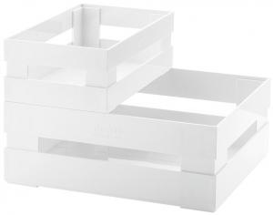 Набор из 2 ящиков Tidy & Store 31X23X12 / 23X16X8 CM белый