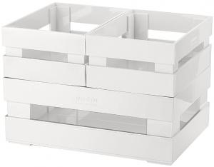 Набор из 3 ящиков Tidy&Store 23X16X8 / 16X11X7 / 16X11X7 CM светло-серый