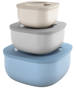 Набор из 3 контейнеров для хранения Store&More 450 ml / 975 ml / 1.9 L