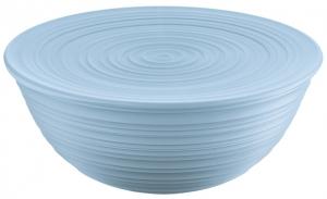 Миска с крышкой Tierra Ø30 CM голубая