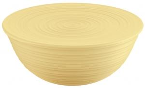 Миска с крышкой Tierra Ø30 CM желтая