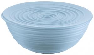 Миска с крышкой Tierra Ø25 CM голубая