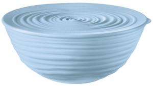 Миска с крышкой Tierra Ø18 CM голубая