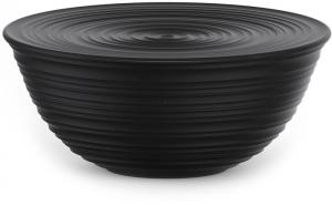 Миска с крышкой Tierra Ø30 CM чёрная