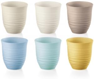 Набор из 6 стаканов Tierra 350 ml разноцветный