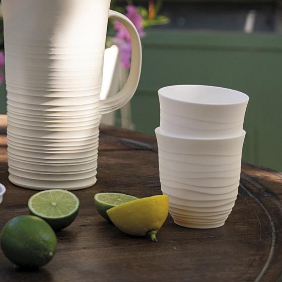 Набор из 6 стаканов Tierra 350 ml разноцветный 2
