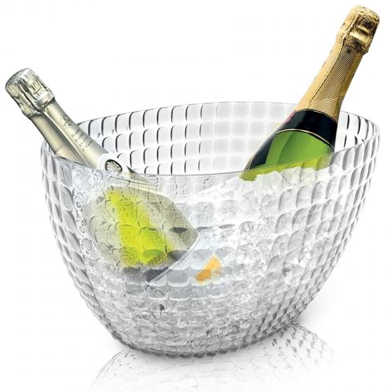 Ведерко для шампанского tiffany прозрачное 1