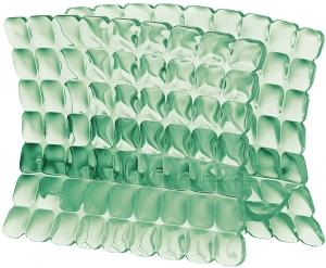 Салфетница tiffany зелёная