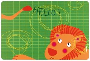 Коврик сервировочный детский Hello 43X30 CM
