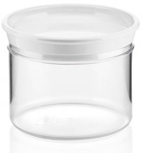 Банка для продуктов Forme Casa 500 ml белая