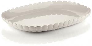 Поднос Tiffany 45X31 CM молочно-белый
