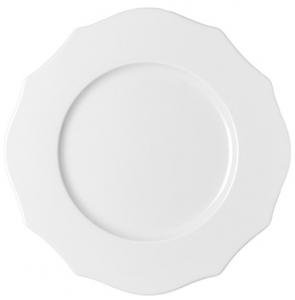 Тарелка обеденная Belle Epoque Ø27 CM белая