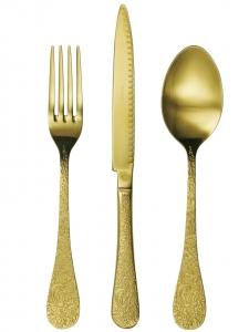 Набор столовых приборов Betty 24 предмета Gold