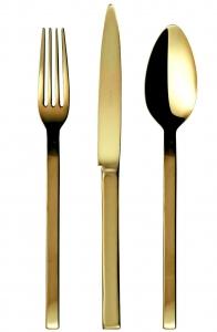 Набор столовых приборов Cronos Gold 24 предмета
