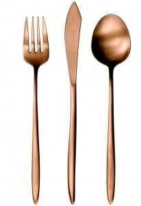 Набор столовых приборов Grace Copper 24 предмета